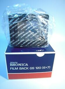 Brand New Zenza Bronica GS 120 Film Back 6x7cm. –K100