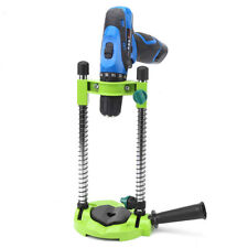 0-45° Adjustable Power Drill Holder Guide Stand Precise Hole Drilling Green New