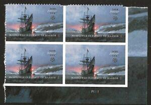 US Scott #5524, Plate Block #P1111 2020 Mayflower VF MNH Lower Right