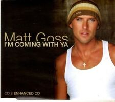 MATT GOSS I'm coming with ya   4 TRACK CD  NEW - NOT SEALED