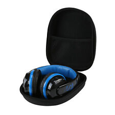 Black Carrying Hard Case Storage Bag Hold for Earphone Headphone Earbuds UK