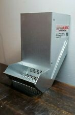 """Usa Galvanized Siftomatic Rabbit Feeder. Self Cleaning. 3 1/2"""" Wide Opening"""