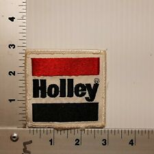 1980's HOLLEY VINTAGE EMBROIDERED PATCH