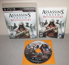 ASSASSIN'S CREED Brotherhood PlayStation 3 w/Manual Action Adventure Black Label