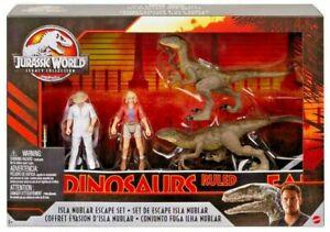 Jurassic World Legacy Collection Isla Nublar Escape Set w Dr. Hammond & Ellie