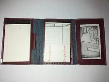Mini Agendas de Poli-piel (Lista Teléfonos + Bloc + Tarjetero).