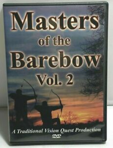 Masters Of The Barebow Volume 2  Traditional Archery Instructional DVD