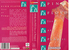 PINK FLOYD LIVE AT POMPEII RARE-VHS COVER ONLY