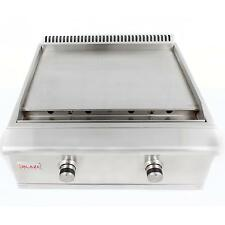 """30"""" Blaze Stainless Steel BBQ Griddle 2-Burner Built-In Natural Gas Grill Island"""