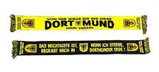 DORTMUND Fan Schal - und wenn ich sterbe, begrabt mich in Dortmunder Erde