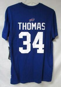 Buffalo Bills Thurman Thomas #34 Men's Size Medium T-Shirt B4 183