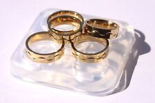 Clear Silicone Jewelry Casting DIY Ring Molds Size 6,7.5,8.5,9.5,9.75. (Z-37)