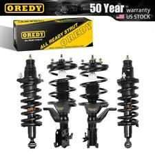 OREDY Complete Struts Shocks & Coil Spring w/ Mounts x4 Fits Honda Civic 03-05