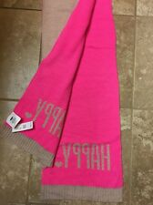 NWT Old Navy Pink Tan Winter Scarf Happy