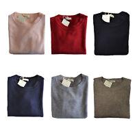 Maglia Maglione Girocollo CACHEMERE COMPANY Sweater Crew Neck Donna Woman IDS006