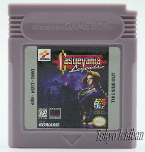 Jeu Compatible Game Boy Castlevania Legends Konami - GBA SP DMG 01 Color / Repro
