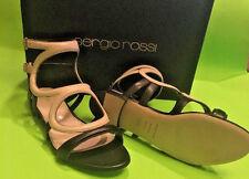 NIB $850 Sergio Rossi Arabesque Flat Sandal EU 36.5 (US 6.5 )