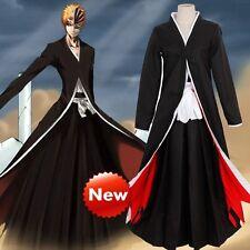 Juegos con disfraces Disfraz Anime Bleach Ichigo Kurosaki Bankai uniforme de Halloween