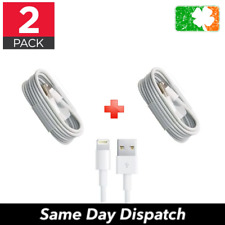 2PACK USB Data Lightning Cable Charger Sync for Apple iPhone 5 6 7 8 X iPod iPad