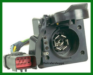 Hopkins 42145 MULTI-TOW 7 Way RV & 4 Flat Trailer Connector Plug Adaptor