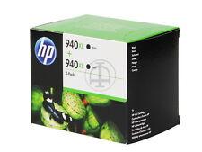 HP ORIGINAL DUOPACK  TWINPACK VALUE SET 2x Nr. 940XL Black C4906A  Doppelpack