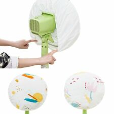 Electric Fan Anti-dust Cover Leaf Flower Printed Dust Proof Protector Kids Baby