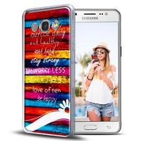 Handy Tasche Samsung Galaxy J1 J100 Schutz Hülle Silikon Cover Backcover Case
