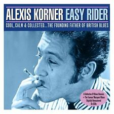 CD 2 DISCS - ALEXIS KORNER  -  EASY RIDER   (NEW / NIEUW  SEALED)