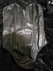 Victoria's Secret Leather Corset S