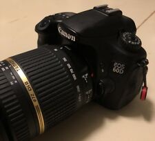 Canon 60D 18.1MP DSLR & Tamron 18-270MM All In One Lens