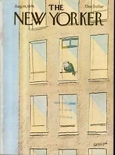 1978 New Yorker August 14 - A Pigeon of a different color by Sempe