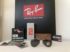 Occhiali Da Sole Ray Ban Aviator RB 3025 001/58 Size 58