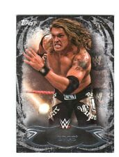 WWE Edge #85 2015 Topps Undisputed Black Parallel Base Card SN 44 of 99
