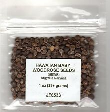 1 ounce (oz) Hawaiian Baby Woodrose Seeds HBWR Argyreia Nervosa Hawaii Strain