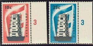 Holanda. MNH Yv 659/60. 1956. Series Completa. Magnifica. Yvert 2012 : 70 Euro