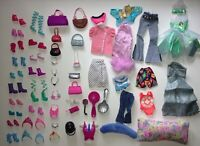 Huge Lot 100+ VTG 1980s 90s 00s Barbie Doll Fashion Outfit Clothing Accessories