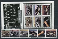 Neuseeland 2103/08 Block 154 postfrisch / Rugby ..........................1/2106