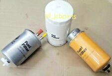 JCB Oil Filter 320/04133, Fuel Filter 320/07155, Fuel Filter 32/925994 (Set Of3)