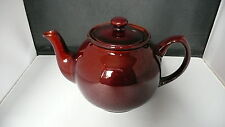 Price Kensington Brown Glazed Teapot. 4 Cups. 5 inches High.