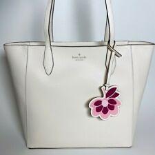 White Floral Saffiano Kate Spade Tote
