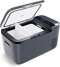 24Qt Dual Zone Portable Refrigerator Danfoss Compressor Freezer App Control Gray