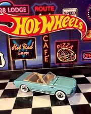 """🏁 Hot Wheels 1965 Mustang Convertible """"Turquoise"""" Mint 🏁"""
