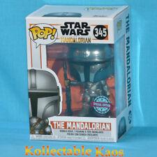 Funko Pop Vinyl Star Wars The Mandalorian Chrome #345 Protector
