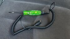 Snap On GREEN 3 - 19 volt DC LCD Circuit Tester test light SPECIAL EDITION COLOR