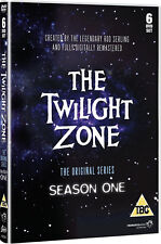 TWILIGHT ZONE COMPLETE SERIES 1 DVD 1st First Season One Original UK Release R2