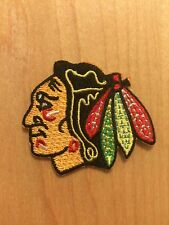 Chicago Blackhawks Embroidered Iron On Sew Patch USA SELLER! 2 inches
