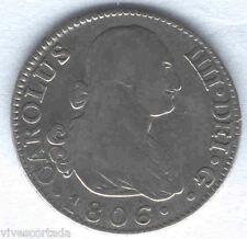 Carlos IV 2 Reales 1806 Madrid F.A. @ Bella @