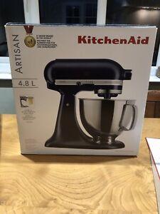 KitchenAid Artisan Mixer 4.8L Brand New With Attachments Matt Ink Blue