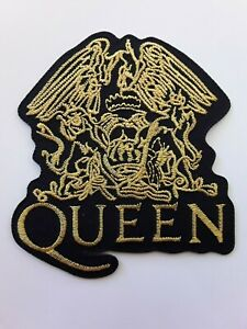 QUEEN WE WILL ROCK YOU BRITISH ROCK MUSIC BAND LARGE EMBROIDERED PATCH UKSELLER