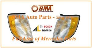 New OEM Mercedes W140 TURN SIGNAL LAMPS LEFT/RIGHT S Class 1408260743 1408260843